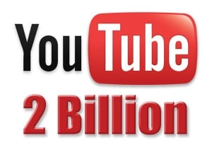 YouTube Hits 2 Billion Downloads a Day