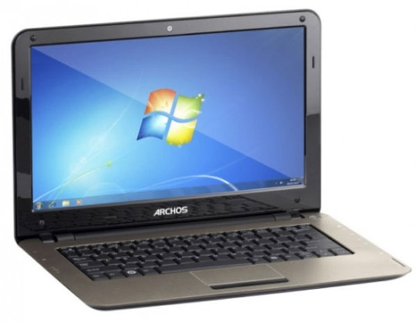Archos 13 Notebook Features Netbook Specifications