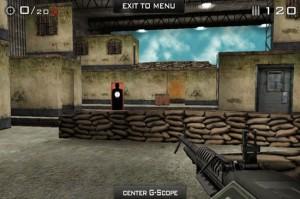 Eliminate Gun Range