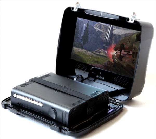 Make Your Xbox 360 Portable With The GAEMS Suitcase