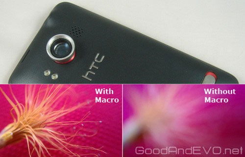 HTC Evo Magnetic Macro Lens