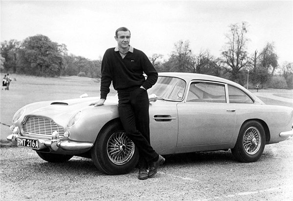 James Bond's Aston Martin Goes Up For Sale
