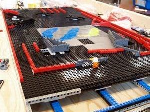 Lego NXT Pinball Machine