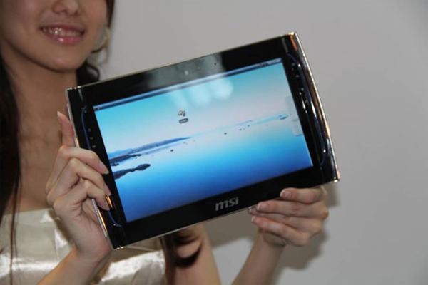 MSI WindPad 100 Announced At Computex 2010