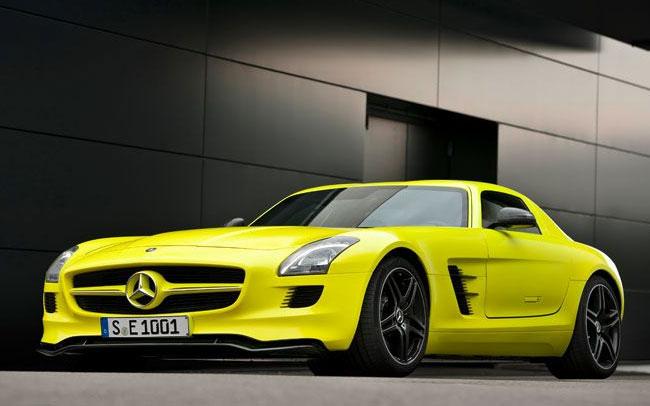 Mercedes New Electric Supercar
