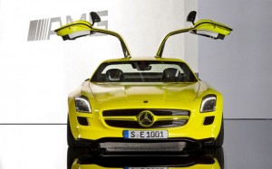Mercedes Electric Supercar