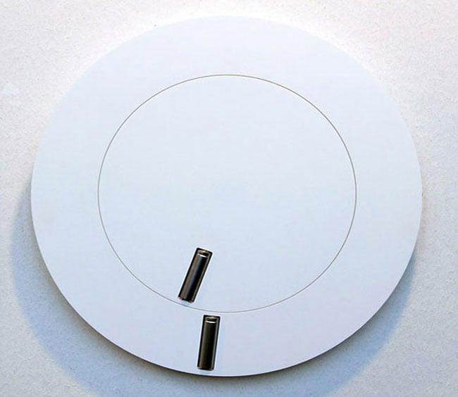 Minimalist Battery Clock