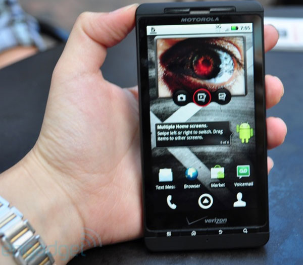 Motorola Droid X Android Smartphone Preview