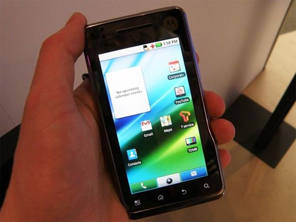 Motorola XT720 Milestone Android Smartphone Announced For UK