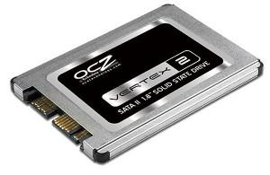 OCZ Vertex 2 and Onyx 1.8 inch SSDs
