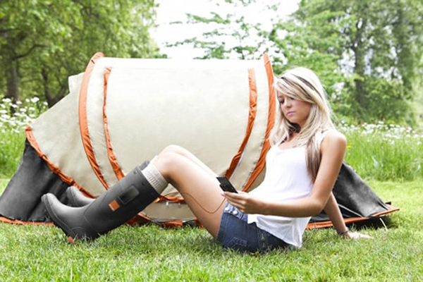 Orange Announces Orange Power Wellies To Charge Your Gadgets