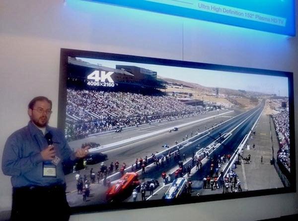 Panasonic's 152 Inch Plasma TV Ships This Fall