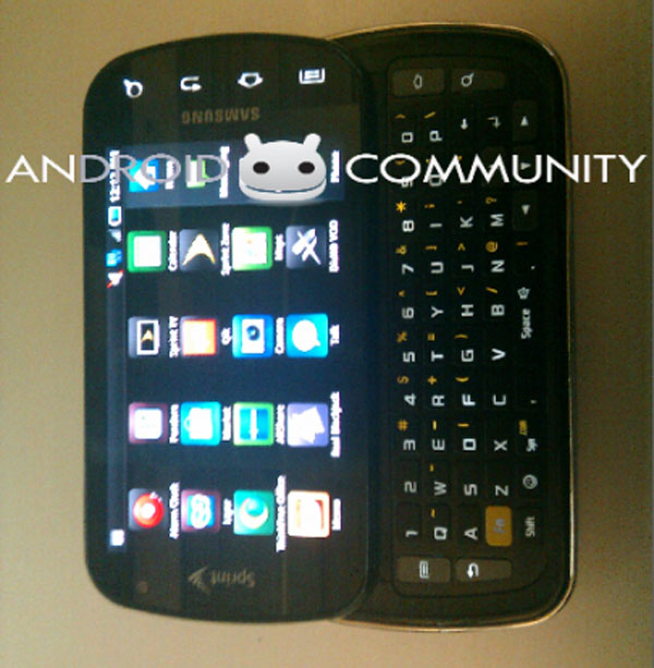 Samsung Galaxy S Pro Picture Leaked