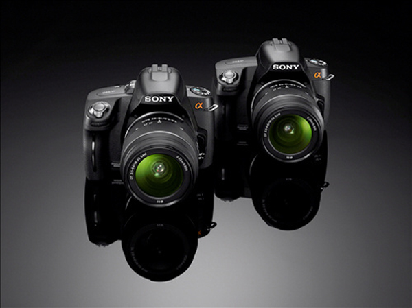Sony Alpha A290 And Sony Alpha A390