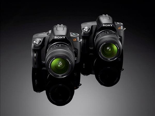 Sony Alpha A290 And Sony Alpha A390