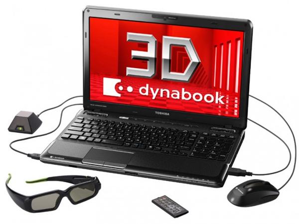 Toshiba Dynabook TX/98MBL 3D Notebook
