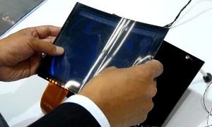 Toshiba Flexible LCD Technology