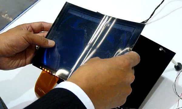 Toshiba Flexible LCD Technology