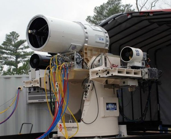 US Navy Laser Weapon System