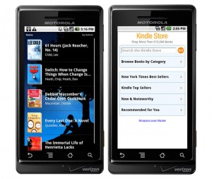 Amazon Kindle For Android Released