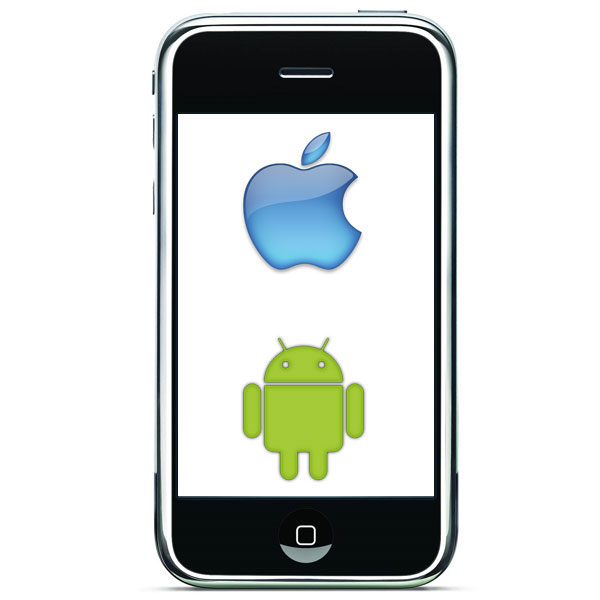 Android 2.2 running on iPhone 3G