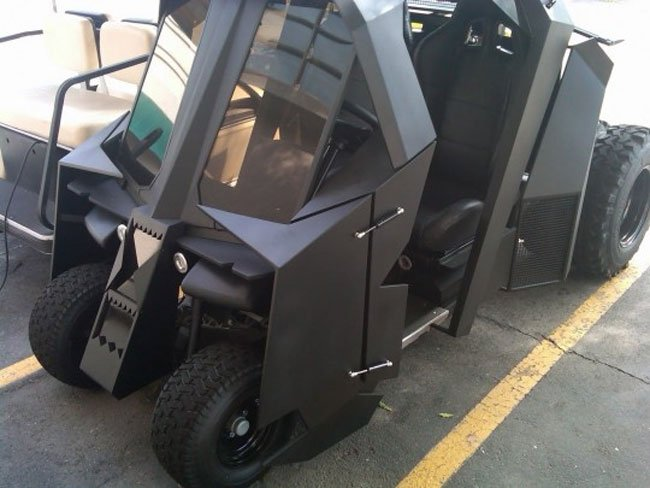 batman golf cart
