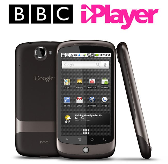 BBC iPlayer Now Available On Android 2.2 Smartphones