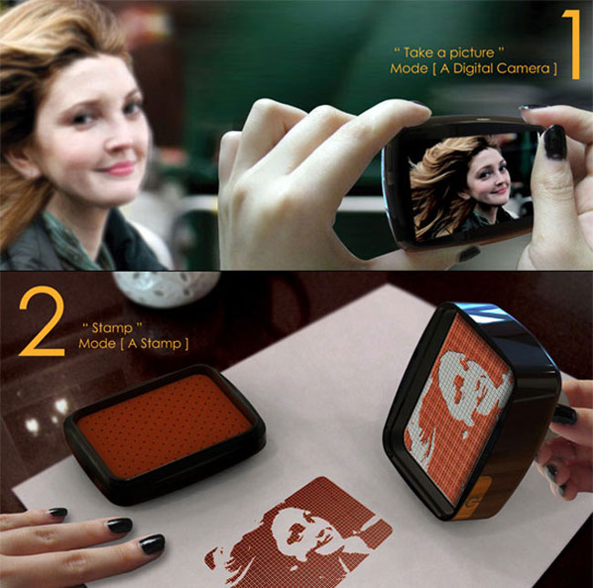 Camera Concept Turns Your Pics into… Stamps?