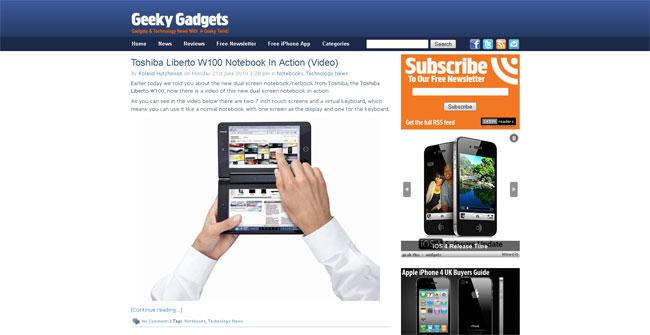 Geeky Gadgets