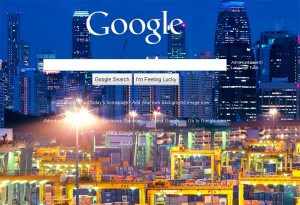 Google's Custom Home Page Backgrounds Now Live