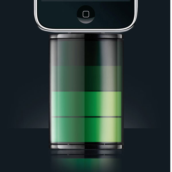 iPhone Icon Battery Pack Charger
