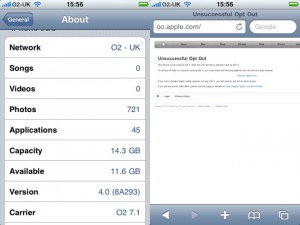 Apple's iAds Opt Out Feature Not Working?