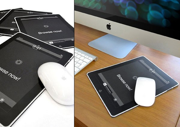 The iMousePad Takes Its Inspiration From the Apple iPad