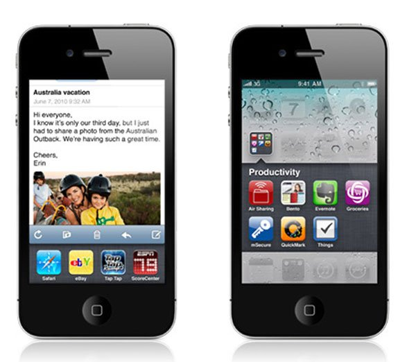 Whats News In iPhone iOS 4?