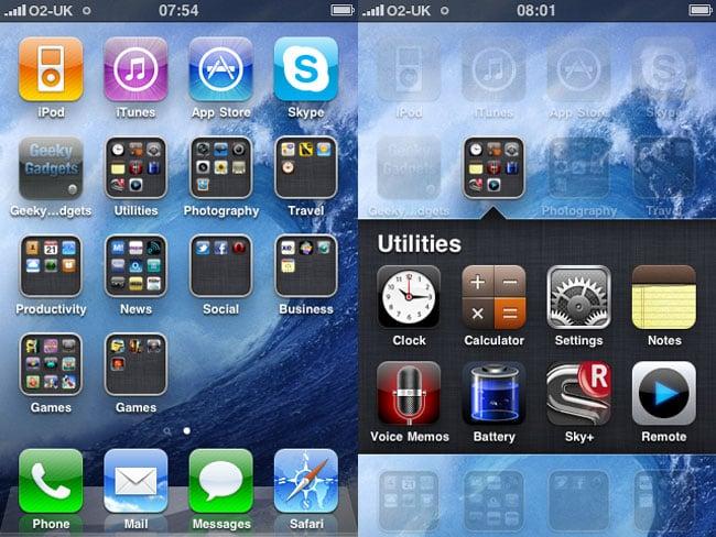 iOS 4 Hands On