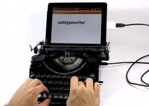 iPad USB Typewriter Mod