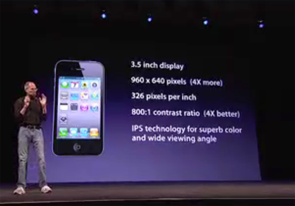 Steve Jobs iPhone 4 Keynote