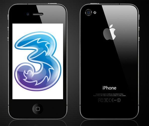iPhone 4 Headed To Three Mobile UK