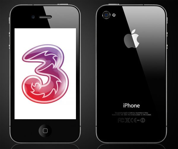 iPhone 4 UK To be The Cheapest On Three?