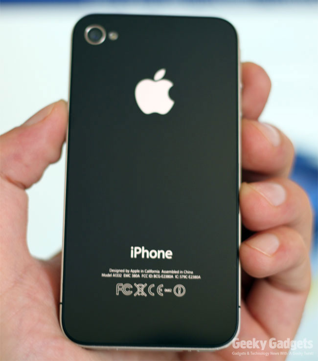 iPhone 4 UK Unboxing