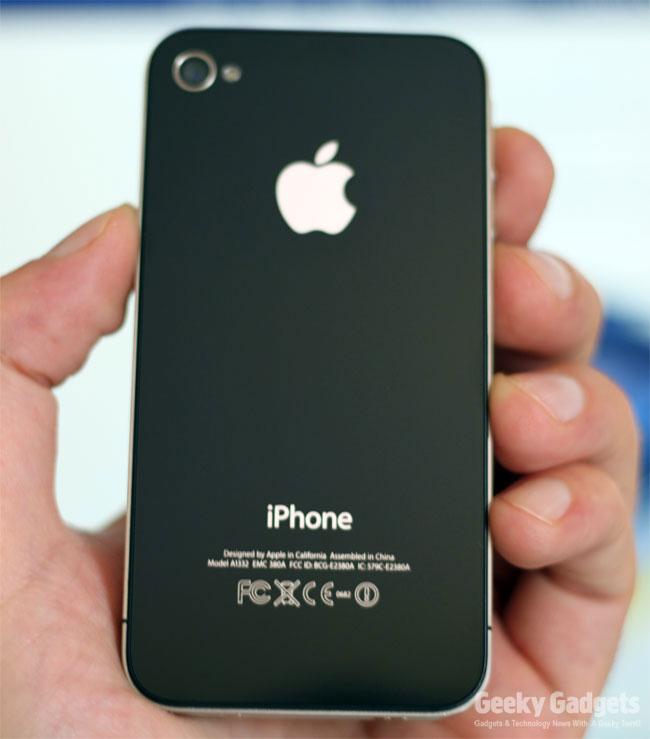 iPhone 4 UK Unboxing