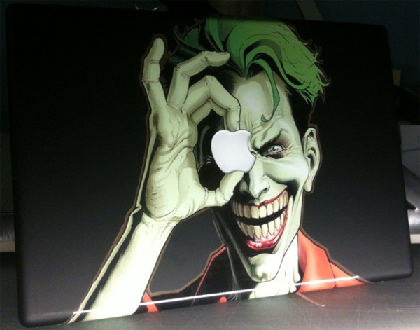 Joker MacBook Decal