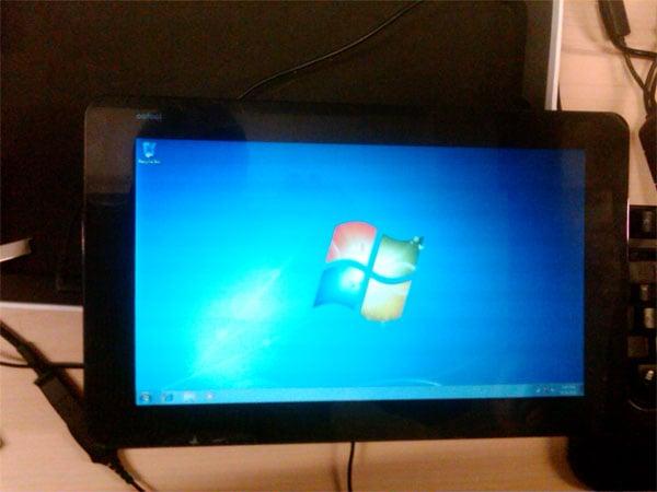 JooJoo Tablet Windows 7