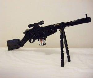 Lego Sniper Rifle Fires Bricks