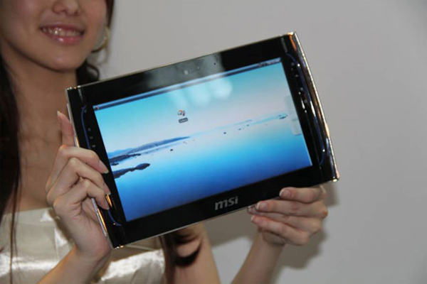 MSI WindPad 100 Tablet In Action (Video)