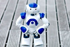 20 Nao Robots Syncronized Dancing (Video)
