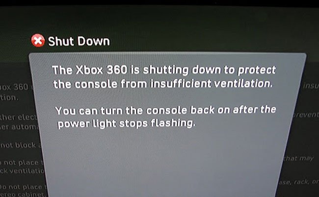 New Xbox 360 Warns You When Its Too Hot, Shuts Down