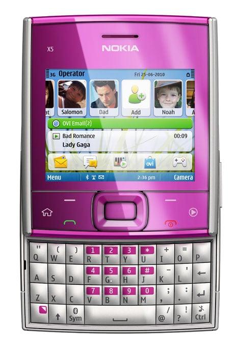 Nokia Announces X5 And X6 8GB Smartphones