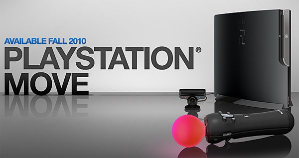 Sony Launches PlayStation Move Website