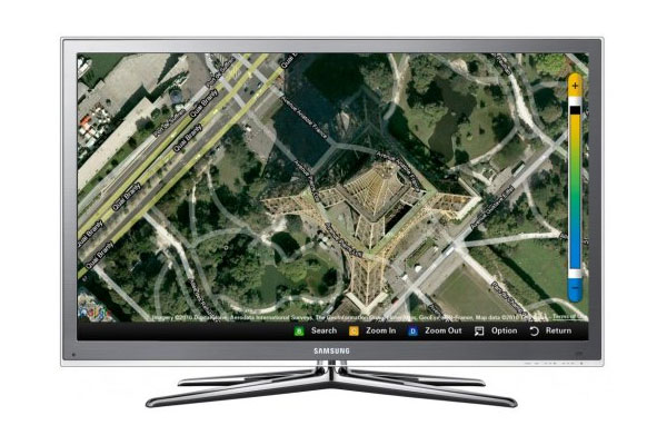 Samsung Adds Facebook And Google Maps To HDTVs